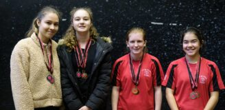 city of durham fives ladies invitation tournament nov 2019 doubles winners
