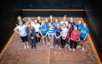 city of durham ladies invitation tournament nov 2019 group photo